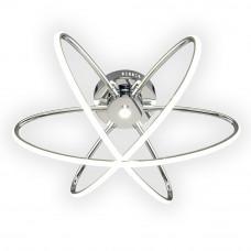 Люстра Геометрия 1-1430-3-CR LED