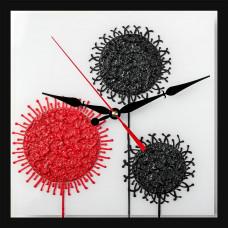 Часы Декор Одуванчики 5636 квад.