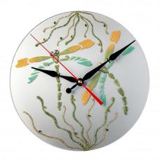 Часы Декор Стрекозы 5621 круг