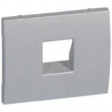 Лицевая панель Legrand Galea Life розетки RJ11 алюминий 771395