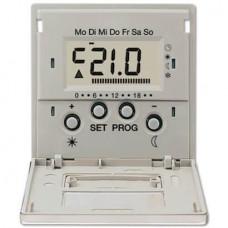 Дисплей термостата с таймером Jung LS 990 edelstahl ESUT238D