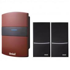 Звонок беспроводной (03617) Uniel UDB-004W-R1T2-32S-100M-RD