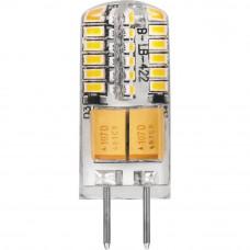 Лампа светодиодная Feron G4 3W 4000K прозрачная LB-422 G4 3W 4000K 25532