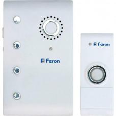 Звонок дверной беспроводной Feron Е367 23674