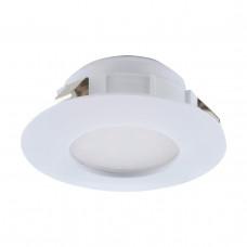 Встраиваемый светодиодный светильник Eglo Pineda 95817
