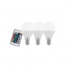 Лампа светодиодная диммируемая Eglo E14 4W 3000K матовая 10683