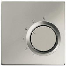 Накладка термостата комнатного Jung LS 990 edelstahl ESTR236PL