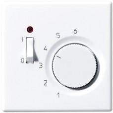 Термостат комнатный 10(4)А Jung LS 990 белый TRLS231WW