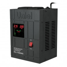 Стабилизатор напряжения (07379) Uniel 1000ВА RS-1/1000WS