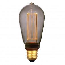 Лампа светодиодная Hiper E27 4W 1800K дымчатая HL-2226