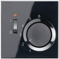 Термостат комнатный 10(4)А Jung LS 990 черный TRLS231SW