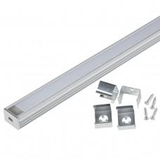 Профиль (UL-00005029) Uniel UFE-K10 Silver/Frozen 200 Polybag
