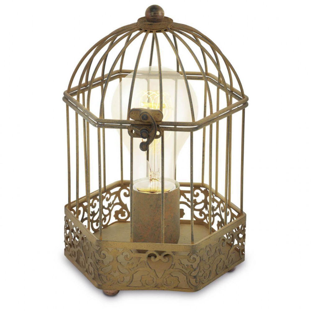 Настольная лампа декоративная Harling 49287