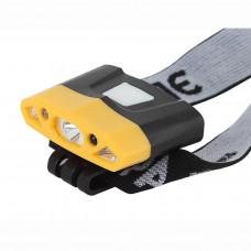 Налобный светодиодный фонарь ЭРА Практик аккумуляторный 32х57 170 лм GA-804 Б0036605