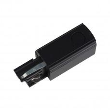 Ввод питания для шинопровода левый (09739) Uniel UBX-A02 Black
