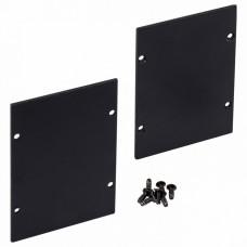 Набор из 2 заглушек для профиля Arlight ARH-LINE-6085 BLACK 018649