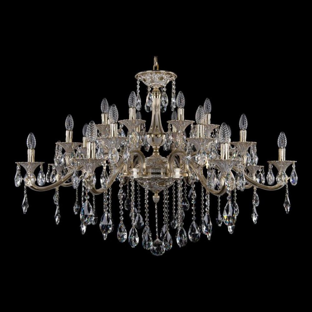 Подвесная люстра Bohemia Ivele Crystal 1709 1709/24/410/B/GW