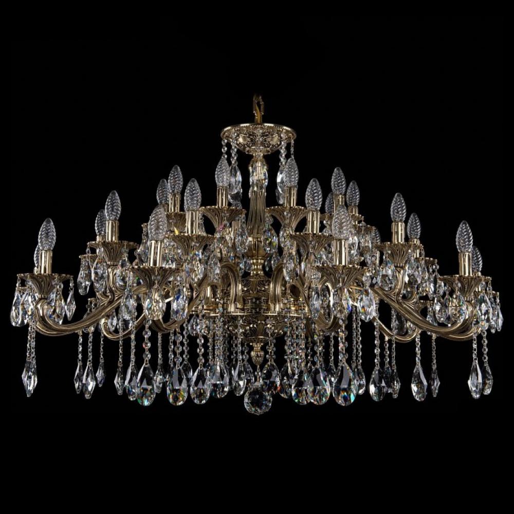 Подвесная люстра Bohemia Ivele Crystal 1709 1709/30/410/A/GB
