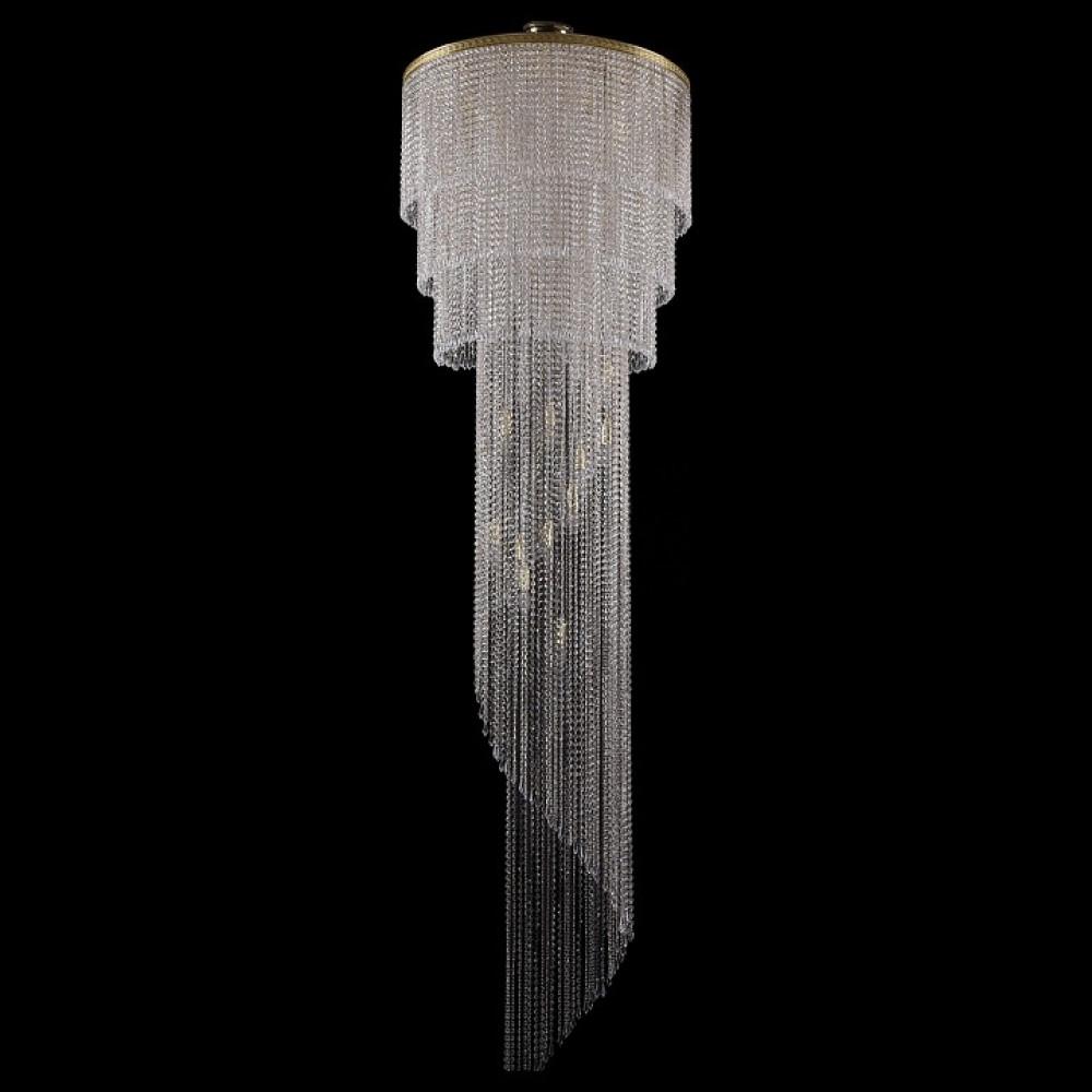 Люстра на штанге Bohemia Ivele Crystal 8311 8311/80-350/G