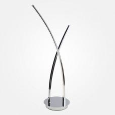 Настольная лампа декоративная Eurosvet Hi-tech 80400/2 хром 11W
