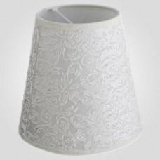 Плафон Текстильный Eurosvet  10307 абажур жемчужно-белый