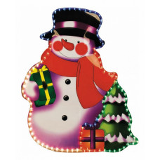 Снеговик световой (79x62 см) LT017 26715