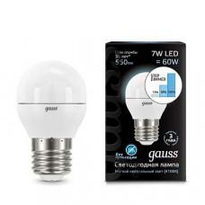 Лампа светодиодная Gauss 1051 E27 7Вт 4100K 105102207-S