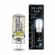 Лампа светодиодная Gauss 1077 G4 3Вт 4100K 107707203