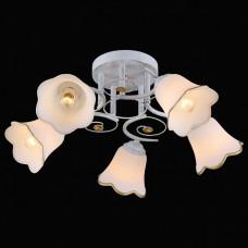 Потолочная люстра Natali Kovaltseva 1145 11452/5C WHITE GOLD
