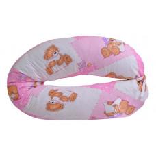 Подушка для беременных (70х130х35 см) Мишки