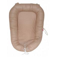 Подушка для новорожденных (30х60 см) Кофе с молоком