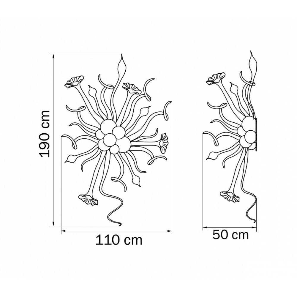 Подвесной светильник Artglass 890039