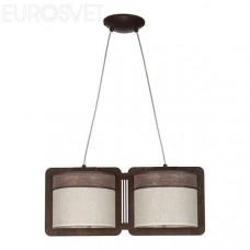 Светильник потолочный Sigma 20204 Szyk 2 коричневый