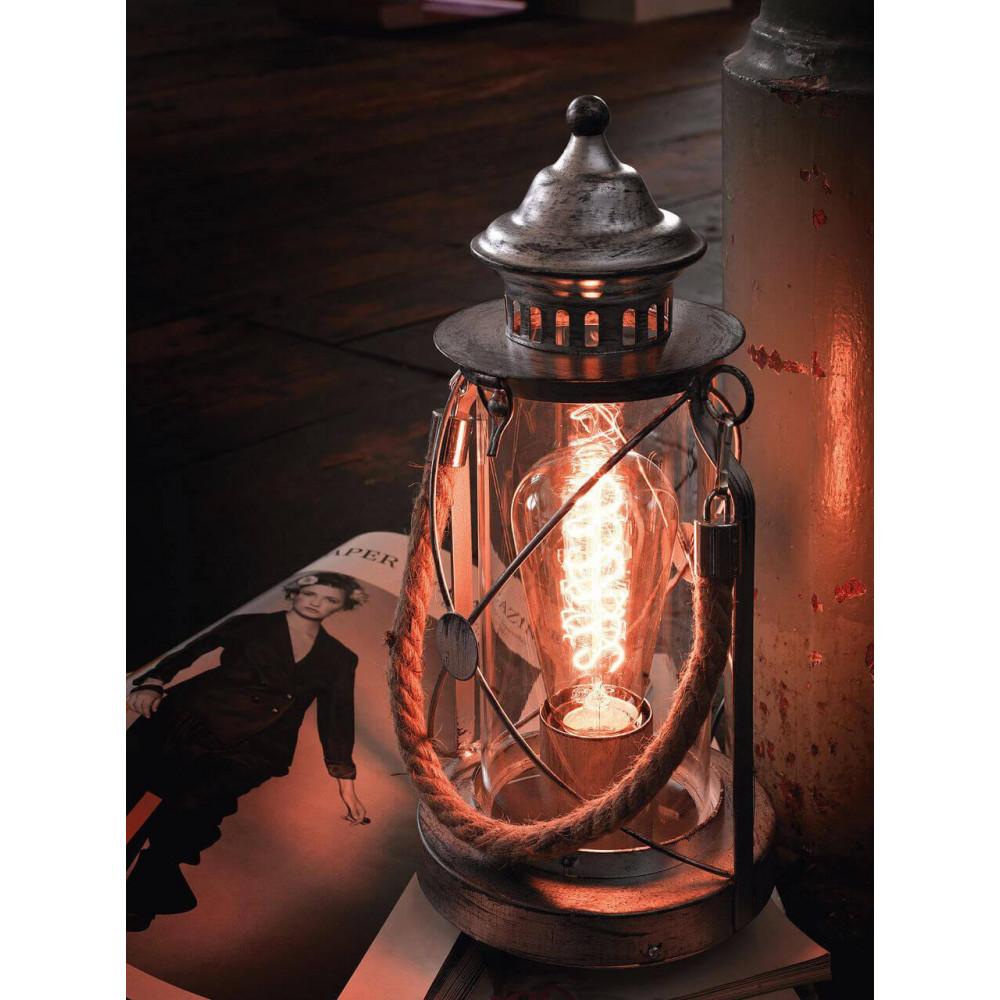 Настольная лампа декоративная Bradford 49284