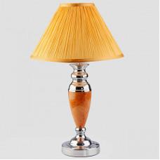 Настольная лампа декоративная Eurosvet 008/1 008/1T RDM (янтарь) мал.(уп 10 шт)